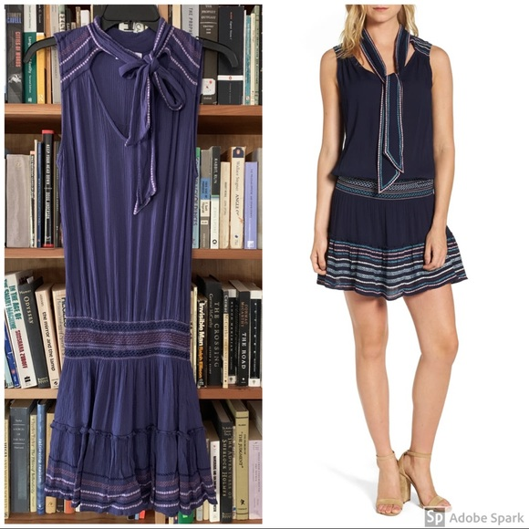 Parker Dresses & Skirts - Parker Drew embroidered drop waist dress